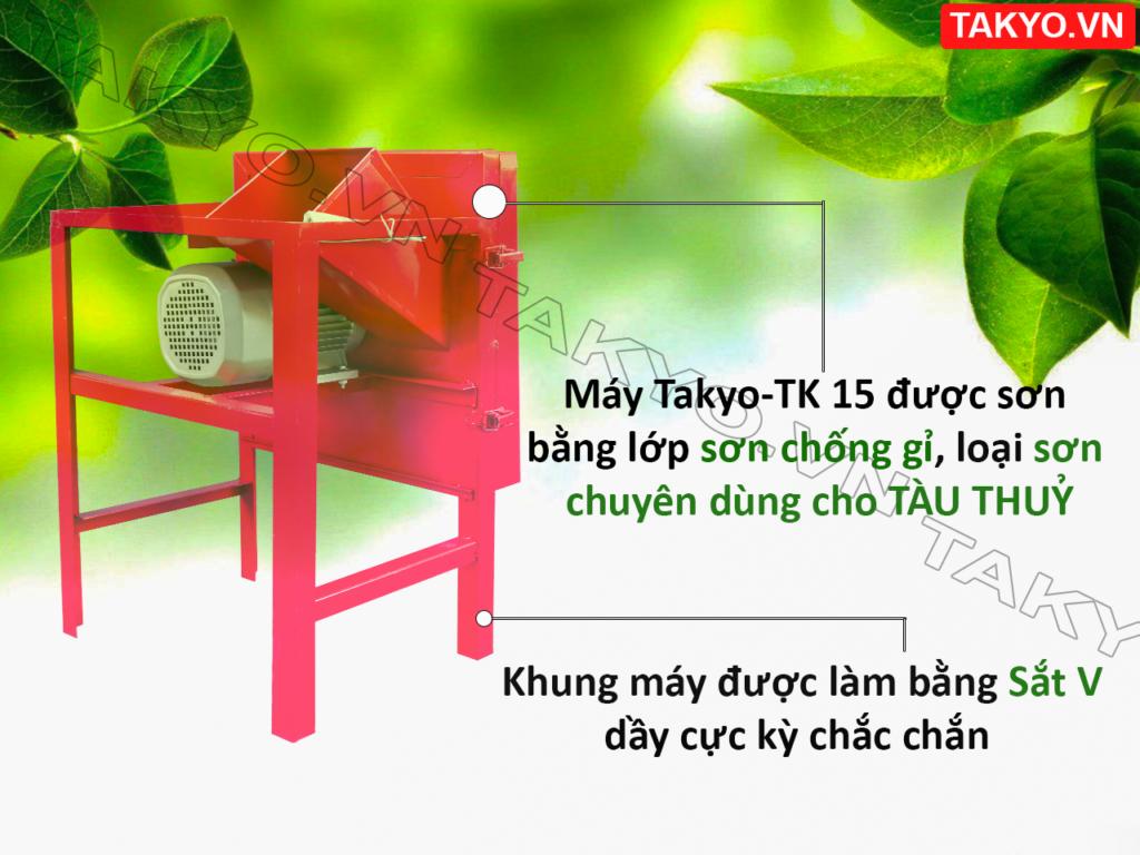 Lớp sơn máy thái chuối Takyo TK 15