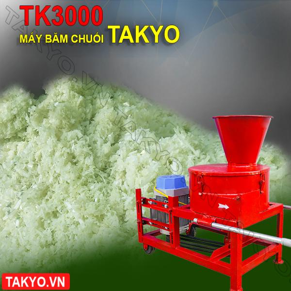 Máy băm thái chuối Takyo TK3000