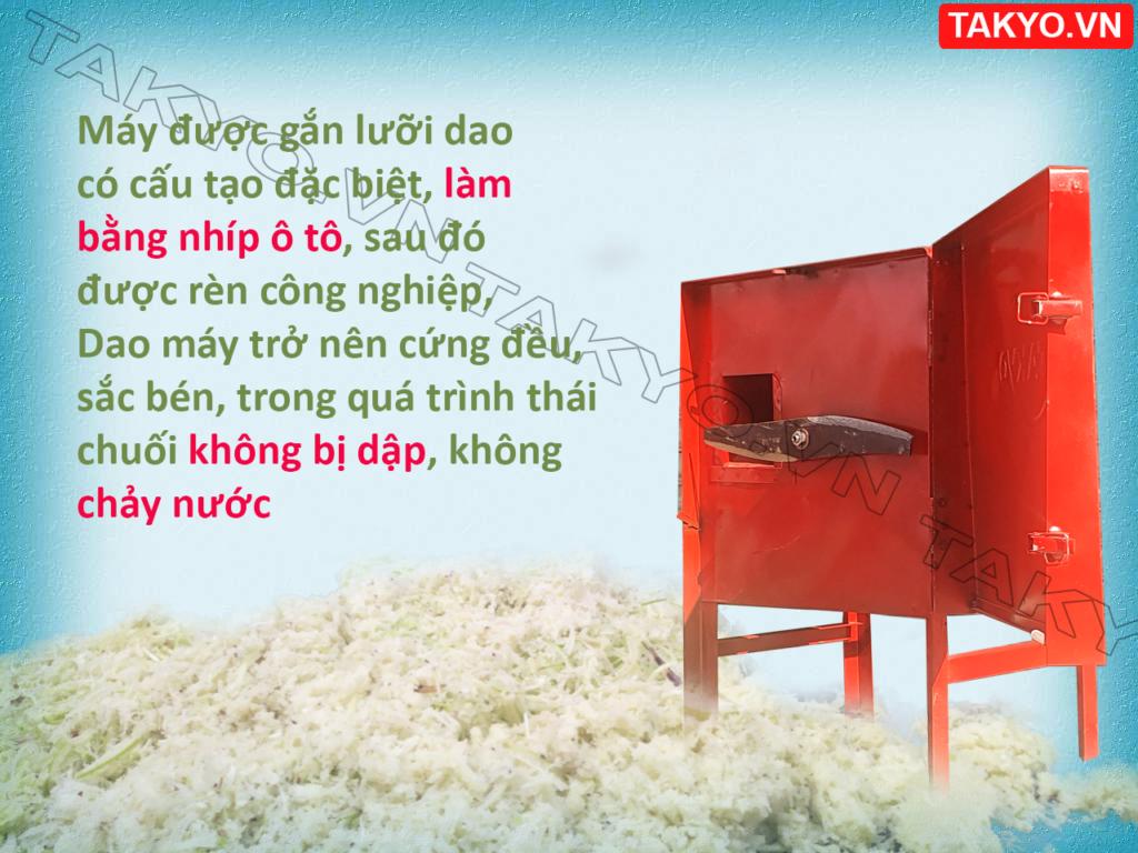Dao máy thái chuối Takyo TK 15