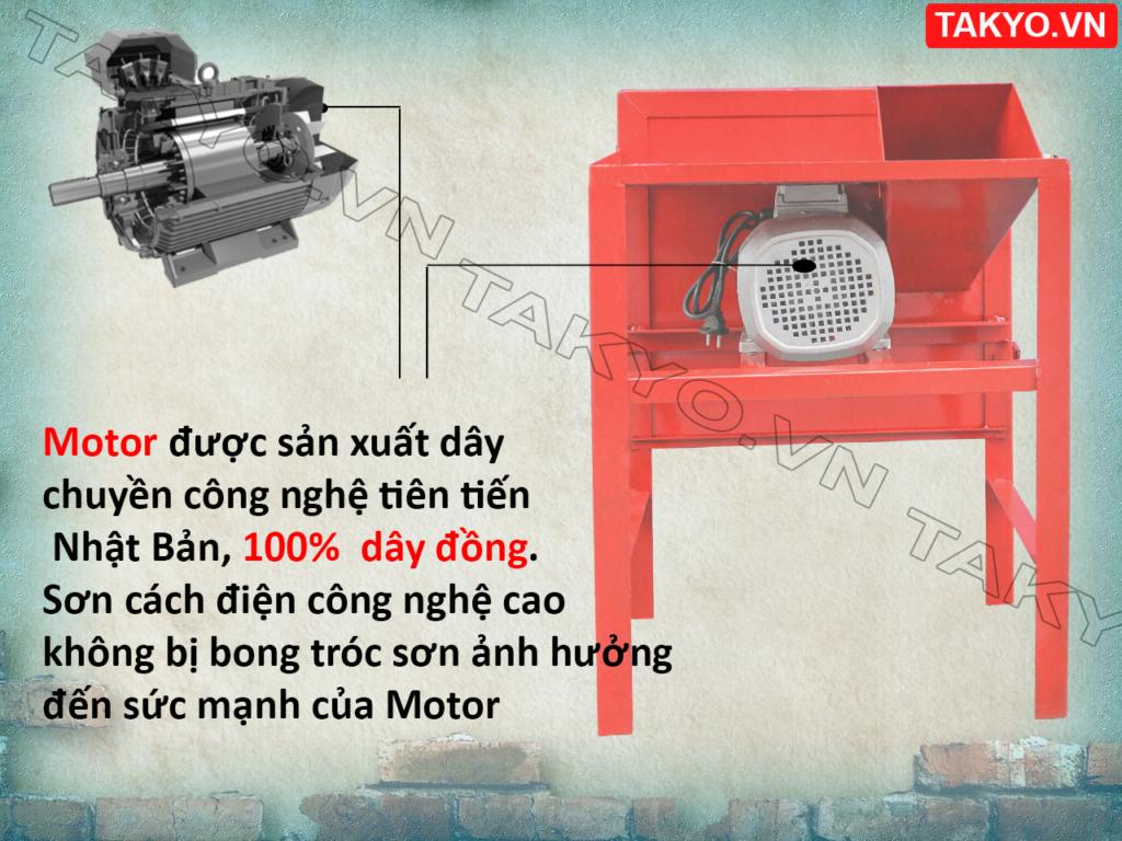 Motor máy thái chuối TAKYO TK 15