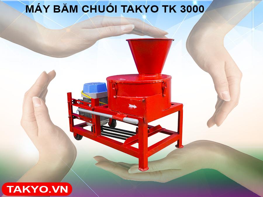 Lý do bà con nên chọn máy băm thái chuối Takyo TK 3000