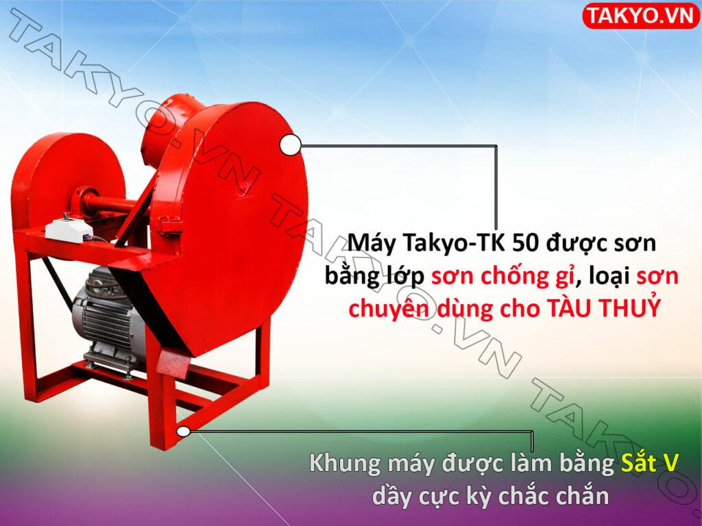 Lớp sơn máy thái chuối thô Takyo TK 50
