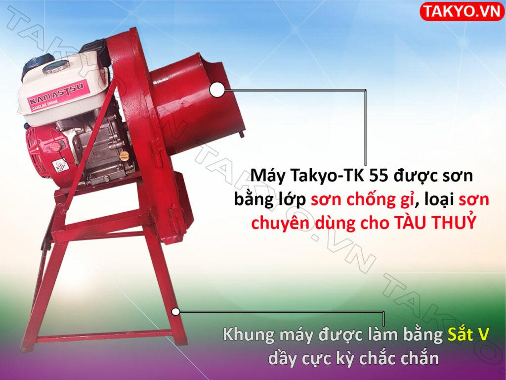 Lớp sơn máy thái chuối mịn Takyo TK 55