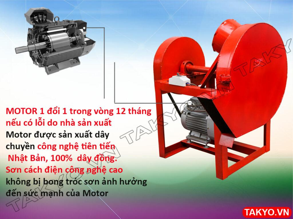 Motor máy thái chuối thô Takyo TK 50