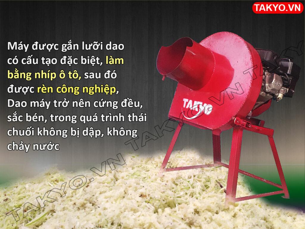 Dao máy thái chuối mịn Takyo TK 55