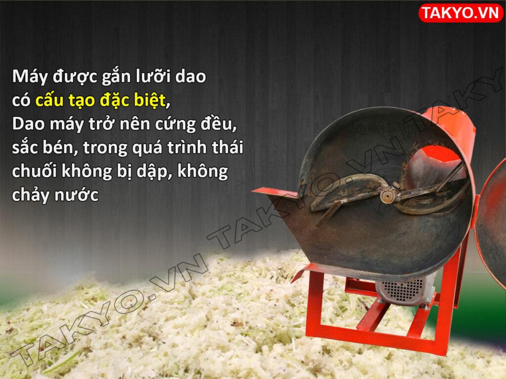 Dao máy thái chuối thô Takyo TK 50