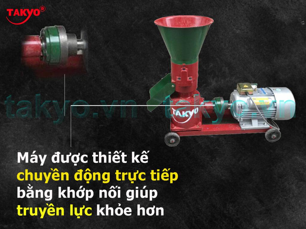 3-Cấu tạo máy ép cám viên hỗn hợp Takyo TK 180