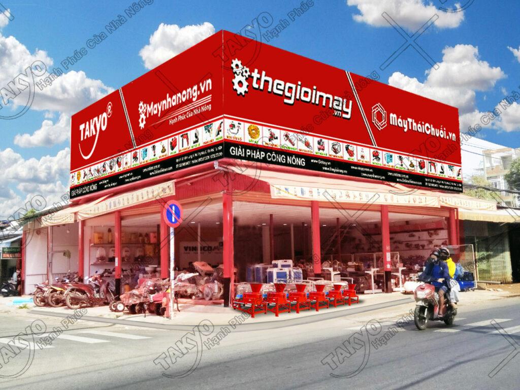 Địa chỉ mua hàng của máy băm thái chuối Takyo TK3000
