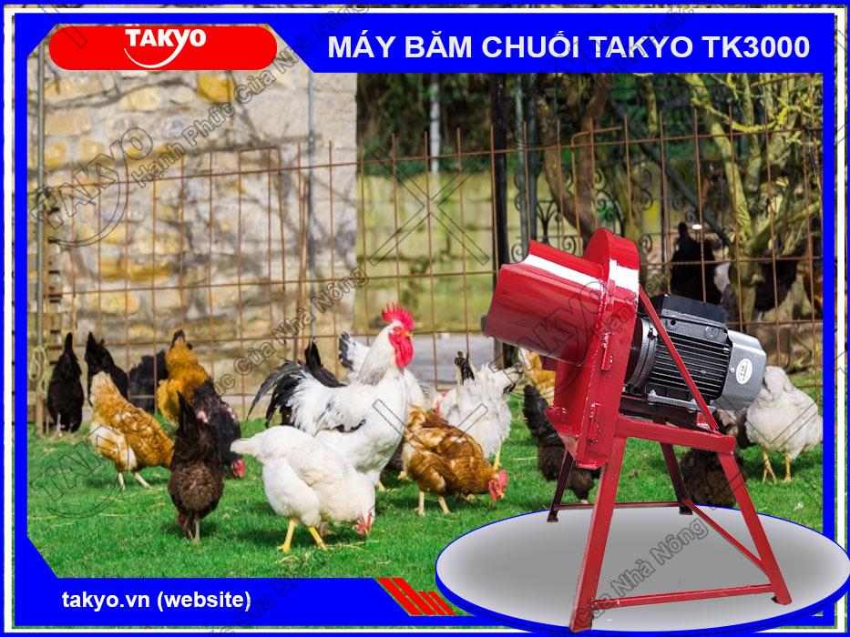 Máy băm chuối Takyo TK1500 cho gà