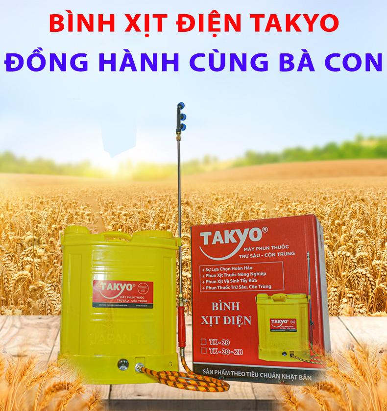 Bình xịt điện TAKYO TK 20-2B