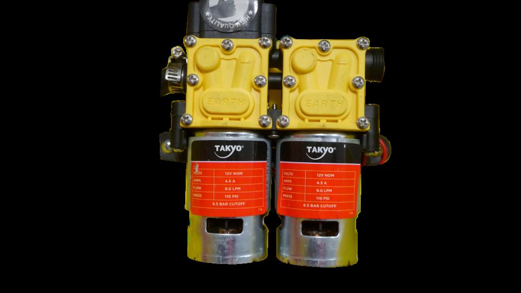 Bộ bơm bình xịt điện TAKYO TK 20-2B