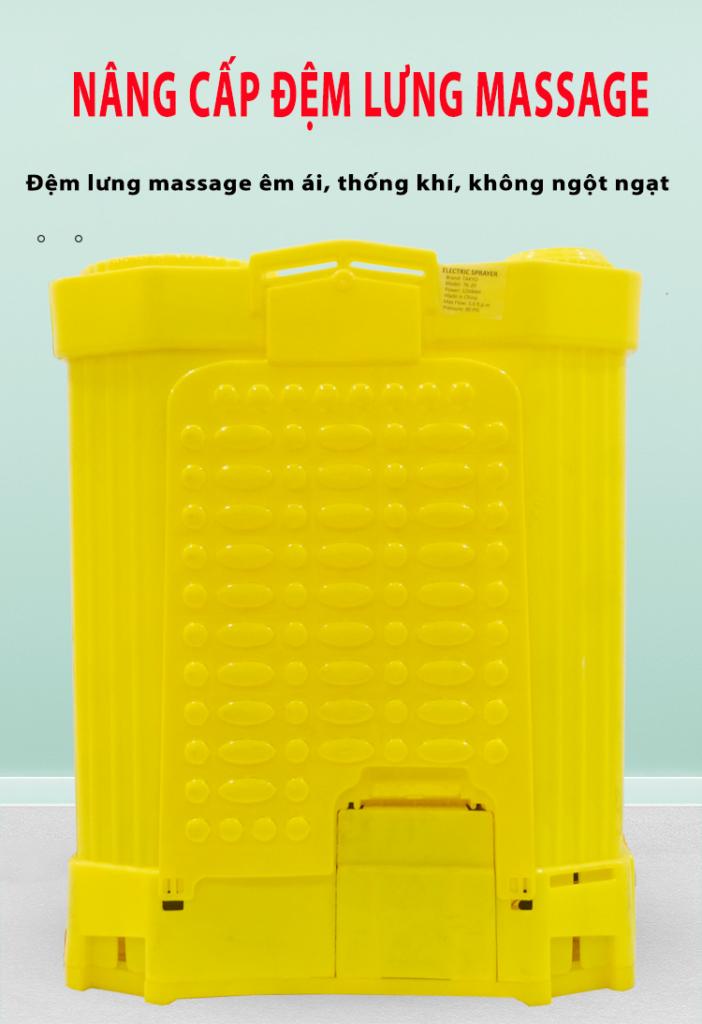 Đệm lưng massage khi người dùng sử dụng