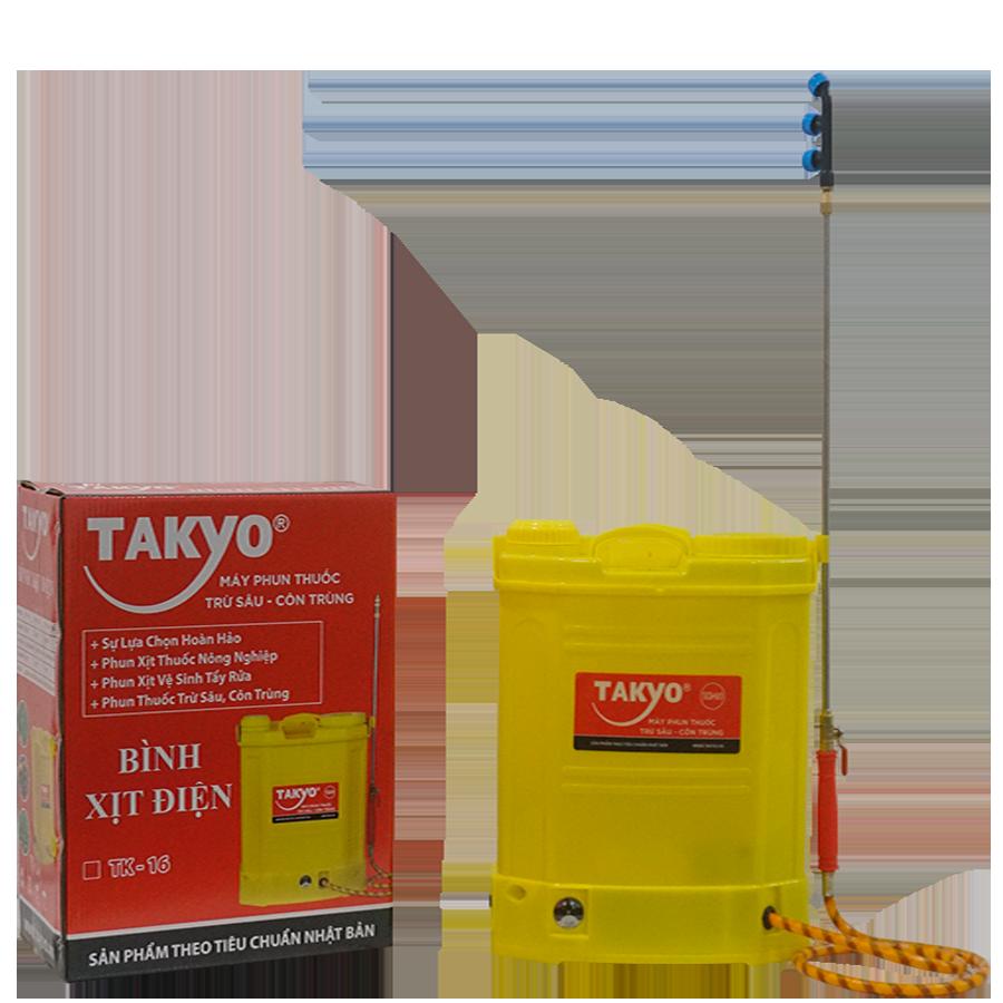 Thùng và bình xịt điện Takyo TK 16