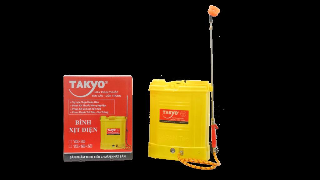 Thùng và bình xịt điện TAKYO TK 20-2B chính hãng