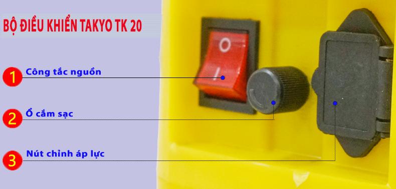 Bộ điều khiển bình xịt điện TAKYO TK 20