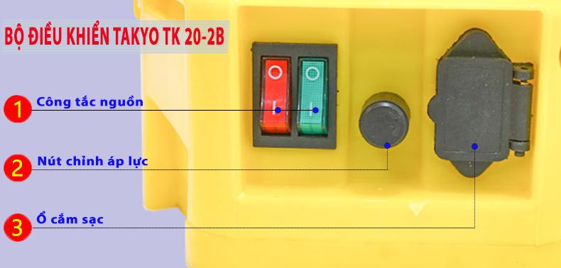 Bộ điều khiển bình xịt điện TAKYO TK 20-2B
