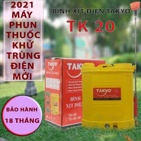 Bình xịt điện chính hãng Takyo TK 20