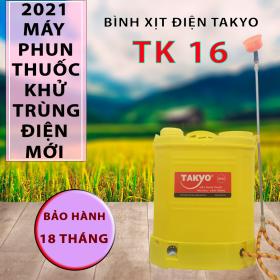 Bình xịt điện chính hãng Takyo TK 16