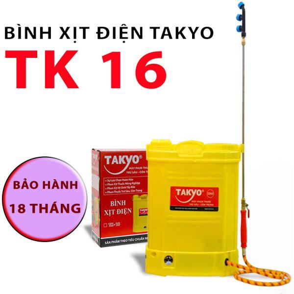 Bình xịt điện 16 lít Takyo TK16