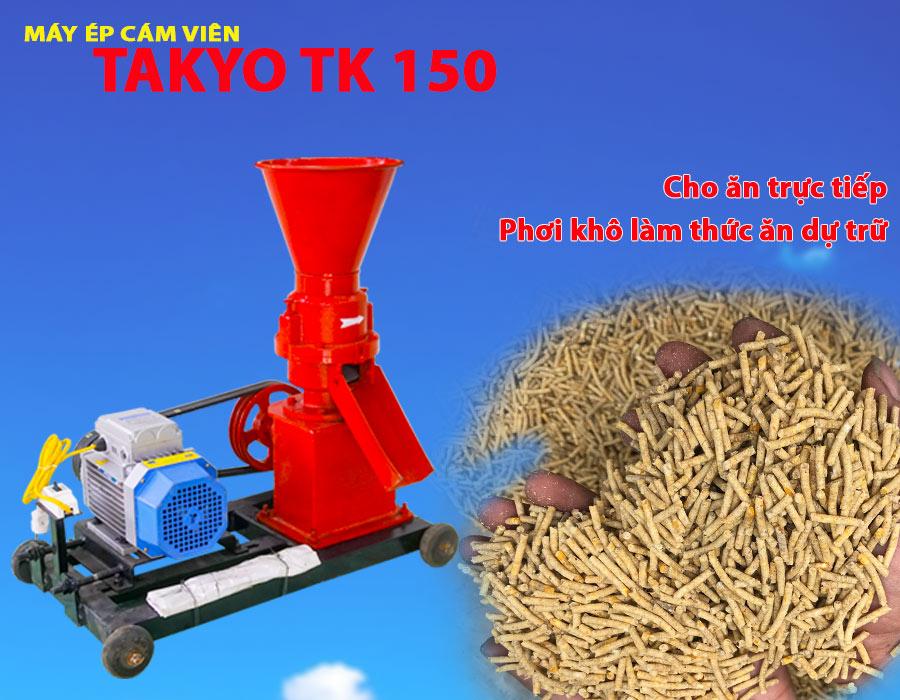 Máy ép cám viên chất lượng Takyo TK 150