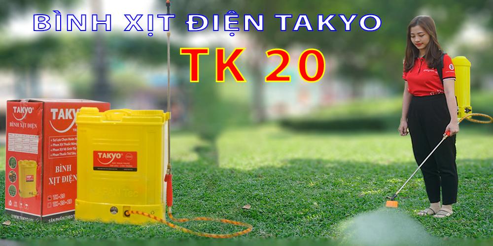 BÌNH XỊT ĐIỆN TAKYO TK 20