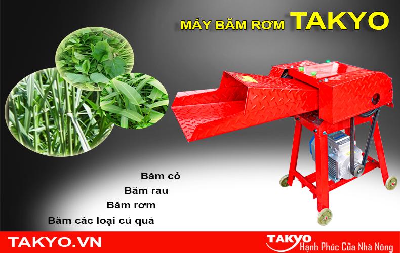Công dụng máy thái băm rơm Takyo