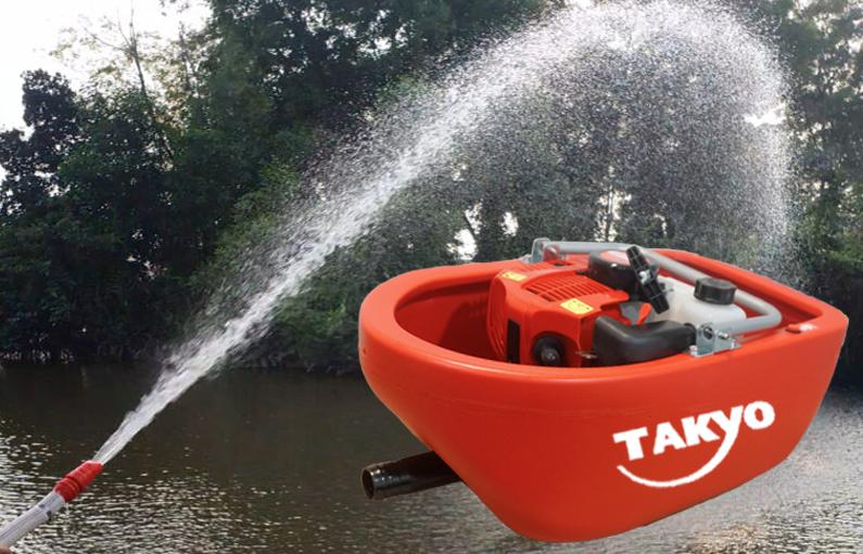 Ưu điểm máy bơm thuyền Takyo
