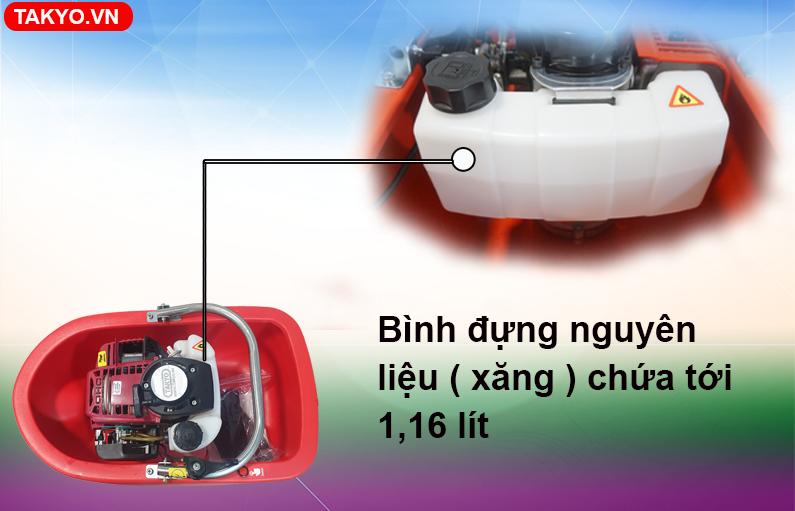 Bình nhiên liệu đựng xăng máy bơm xuồng TAKYO TK 35