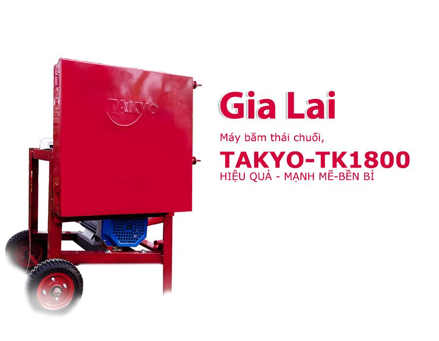 Máy băm chuối Takyo TK 1800  tại Gia Lai , máy băm chuối, băm cỏ voi làm thức ăn nuôi dê, bò, heo siêu tiện lợi
