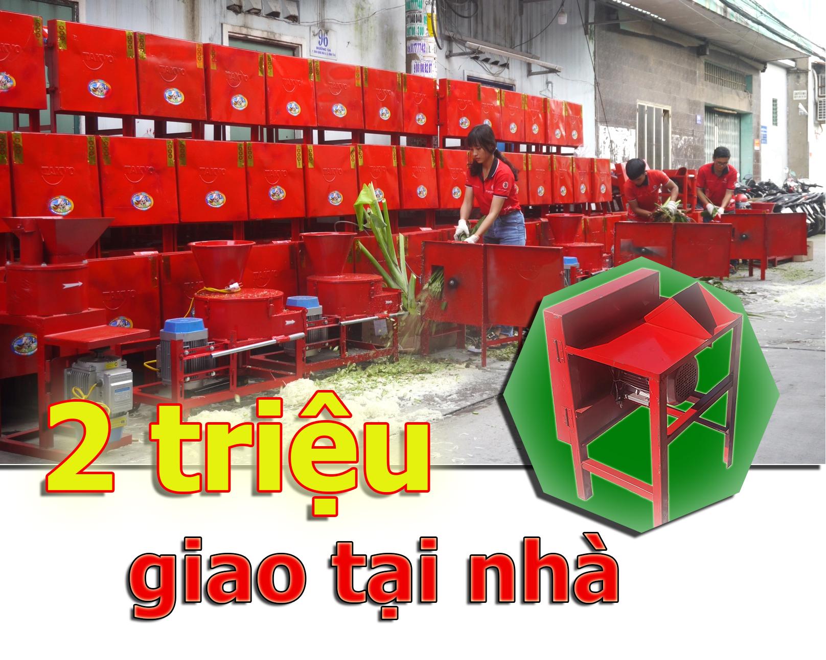 Chỉ với 2 triệu bạn đã có thể tiết kiệm được rất nhiều thời gian và công sức với máy băm chuối TAKYO TK 15